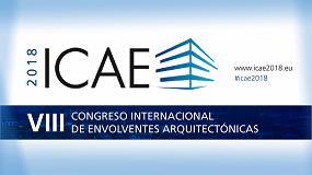Foto de ICAE 2018 se centrará en la Envolvente 4.0