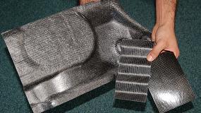 Fotografia de Nuevas aplicaciones a partir de residuos de prepreg y composites de fibra de carbono