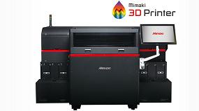 Foto de Mimaki lleva el color hiperrealista a la impresión 3D con la 3DUJ-553 UV LED