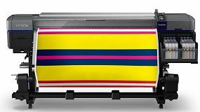 Foto de Epson lanza SureColor SC-F9300, una impresora textil de sublimación para gran volumen de producción