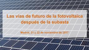 Foto de Unef celebrará su IV Foro Solar los días 21 y 22 de noviembre