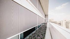Foto de Protección solar de alto nivel en el edificio 'Black Forest' en Shanghái