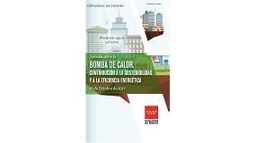 Foto de Jornada sobre la contribución de la bomba de calor a la sostenibilidad y a la eficiencia energética