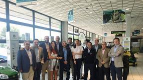 Foto de John Deere Ibérica vuelve a premiar al concesionario Tajada Barrio por su Plan de Marketing de Posventa