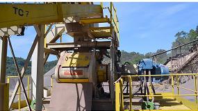 Foto de Producción de arena triturada con molino de rodillos de alta presión (HPGR)