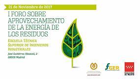 Fotografia de Madrid organiza el I Foro sobre Aprovechamiento de la Energía de los Residuos
