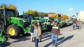 Foto de Cita con la maquinaria y el vehículo de ocasión en la feria Autotardor de Mollerussa (Lleida)