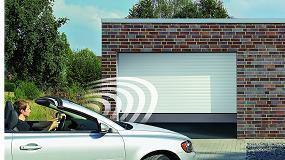 Foto de RollMatic OD, la puerta corredera de techo de garaje que ahorra espacio