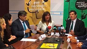 Fotografia de La Fundación Ecolum, presente en las diversas campañas de fomento del reciclaje de RAEE en toda España