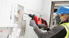Foto de Hilti presenta su nuevo martillo combinado inalámbrico TE 30-A36