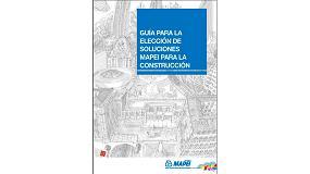Foto de Ya disponible la nueva Guía para la elección de soluciones Mapei para la construcción