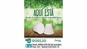 Picture of Goglio presenta en exclusiva en Host 2017 la cápsula compostable barrera