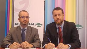 Foto de Aseigraf firma un acuerdo de colaboración con Icentiva
