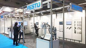 Foto de Festo, en Expoquimia 2017