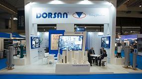 Foto de Dorsan muestra sus soluciones de filtración en Expoquimia
