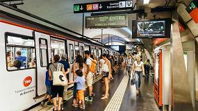 Foto de Los turistas consolidan el crecimiento del transporte público en agosto