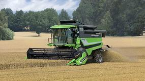 Foto de El mercado español de cosechadoras nuevas: Deutz-Fahr