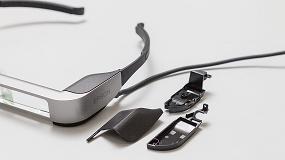 Foto de Epson utiliza prototipos mecanizados para mejorar las gafas inteligentes