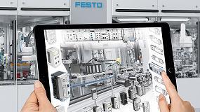 Foto de Festo explica en un curso los beneficios de la Industria 4.0