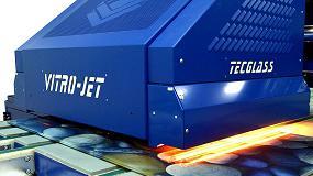 Foto de Tecglass y Tvitec refuerzan su colaboración con la innovadora Vitro Jet F Type