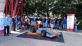 Foto de Elesa+Ganter con la Fórmula Student 2017-2018