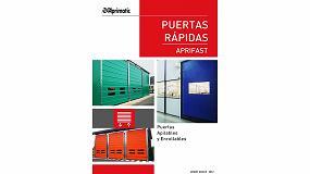 Picture of Aprimatic presenta su nuevo catálogo de Puertas Rápidas Aprifast