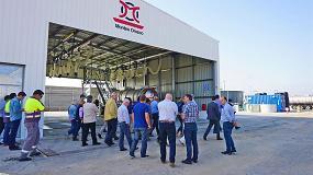 Foto de Montes Orozco inaugura su lavadero de cisternas en Estarreja