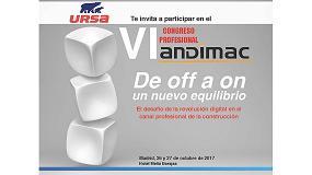 Foto de Ursa patrocina el VI Congreso Profesional de Andimac