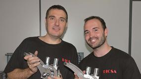 Foto de Entrevista a Juan Carlos Lara, ingeniero técnico del Área de Desarrollo, y Juan Gonzalvo, ingeniero de la Oficina Técnica y de Calidad de Dicsa
