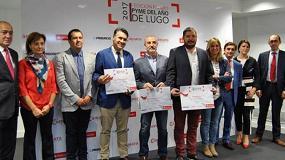 Foto de Recambios Fraín, Pyme del Año en Lugo por su innovación y crecimiento