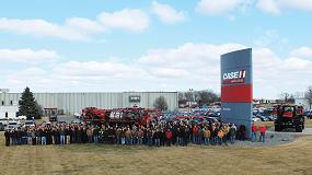 Foto de Reconocimiento a la seguridad y compromiso de organización de la fábrica de Case IH en Benson (EE UU)