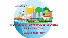 Foto de Xylazel, en el III Congreso Internacional de Ingeniería Civil y Territorio en Vigo