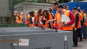 Foto de Productores de Ambilamp y Ambiafme visitan la planta de reciclaje de RAEEs de Recybérica Ambiental