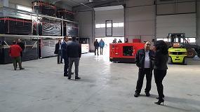 Foto de Himoinsa abre un almacén logístico en Rumanía