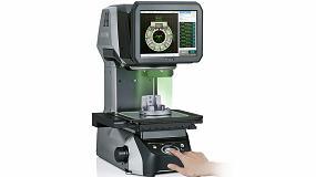 Foto de Keyence presenta la segunda generación del proyector de perfiles digital IM-7000