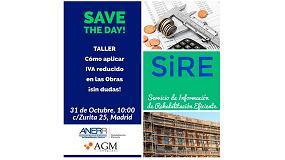 Foto de Anerr y AGM Abogados organizan el taller 'Cómo aplicar IVA reducido en las obras ¡Sin dudas!'