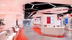 Foto de MediaMarkt confía en Hi-Macs para el diseño de la primera tienda digital en Europa, un proyecto futurista que ha revolucionado el sector retail