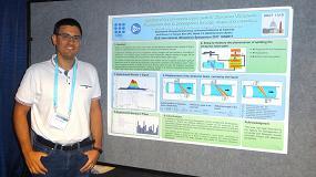 Foto de Tecfluid presenta un proyecto sobre el perfeccionamiento de un caudalímetro por ultrasonidos en dos congresos internacionales