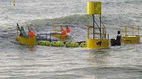 Foto de Energía a partir de la fuerza de las olas con cojinetes plásticos