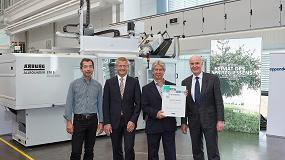 Foto de Arburg entrega a Eppendorf su inyectora Allrounder número 100