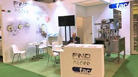 Foto de Indústries Fac, presente en Fruit Attraction como distribuidor de PND