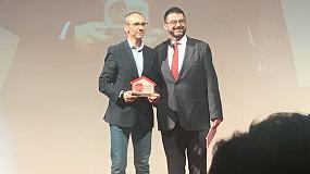 Foto de Miguel Blázquez, CEO de M2M Sistemas, elegido Empresario del Año por la AJE Madrid