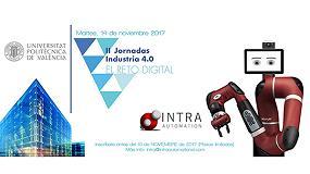 Foto de Intra Automation participa en la II Jornada sobre Industria 4.0, en Valencia