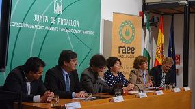 Foto de Fundación Ecolec colabora en el I Taller de información ambiental sobre el reciclaje y reutilización de RAEE