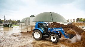 Foto de New Holland explica sus objetivos en el campo de los combustibles alternativos
