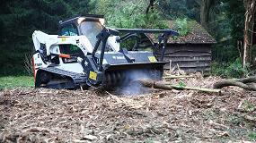 Foto de Nuevas desbrozadoras forestales Bobcat para cargadoras compactas