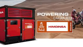 Foto de Himoinsa, proveedor oficial de energía en el Dakar 2018