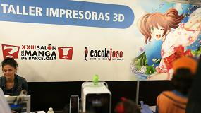 Foto de EntresD lleva la impresión 3D al Salón del Manga de Barcelona