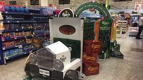 Foto de Los mejores envases, un colorido sleeve para botellas de mojito y un camión de cartón de PLV para cervezas