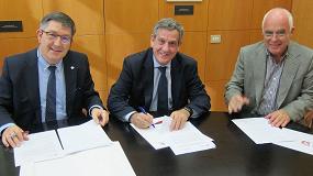 Foto de PlasticsEurope y la Universidad Rovira i Virgili acuerdan renovar su compromiso para difundir el conocimiento científico de los plásticos